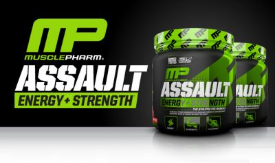 Musclepharm Assault Sport 345 gr Fruit Punch