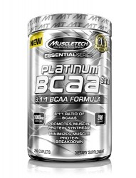 MUSCLETECH - Muscletech BCAA Essential Series Platinum 8:1:1 - 200 Tablet