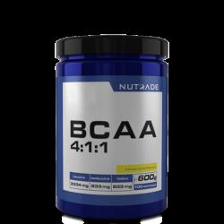 NUTRADE - Nutrade BCAA 4-1-1 600 gr 100 Servis Çilek-Kivi