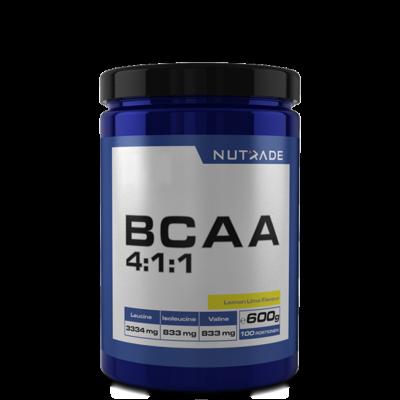 Nutrade BCAA 4-1-1 600 gr 100 Servis Limon + 2 HEDİYE