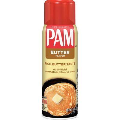 Pam Butter Flavor Spray Oil 141 gr Sprey Yapışmaz Yağ