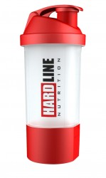 HARDLINE - Hardline Shaker Çift Bölmeli 600 ml