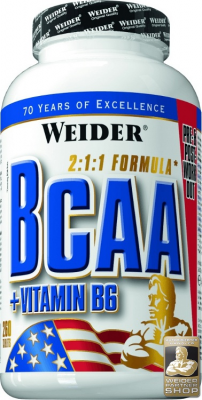 Weider BCAA 260 Tablet Vitamin B6