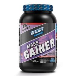 WEST - West Mass Gainer Karbonhidrat Tozu 1500 gr 15 Servis
