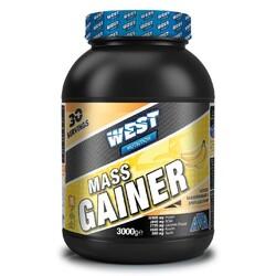 WEST - West Mass Gainer Karbonhidrat Tozu 3000 gr 30 Servis