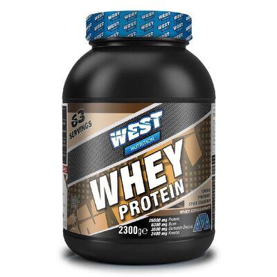 West Whey Protein Tozu 2300 gr 63 Servis Çikolata